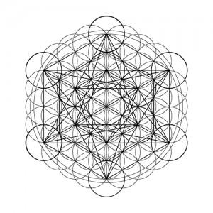 Metatron's Cube + Flower of Life