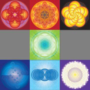Chakra Mandala Set